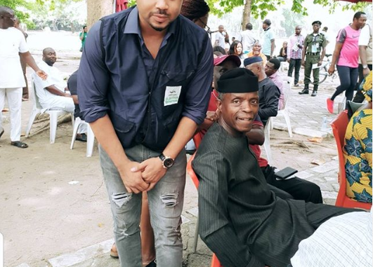 """I have no more money to feed"" - Actor Mike Godson writes to VP Osinbajo"