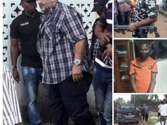 Police rescue Lebanese-born Nollywood actor Bilal Nosser 'Mr B' who was kidnapped in Rivers state (photos/video)