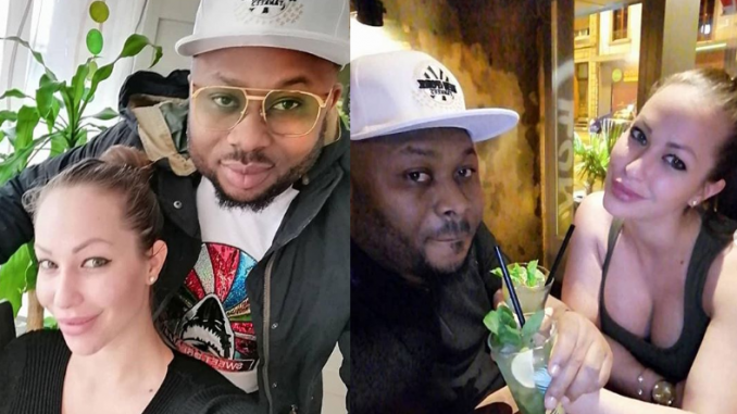 'You are my angel on earth' - Olakunle Churchill celebrates his 'Quiet Queen' who shares same birthday with ex-wife Tonto Dikeh
