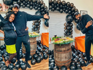 Mike Edwards's wife Perri Shakes-Drayton celebrates him on his 30th birthday (photos)
