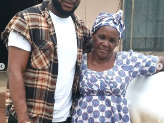 Tchidi Chikere praises his nanny as he adopts her as his mother