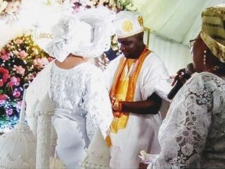 Exclusive! Nollywood Star Actress, Liz Anjorin, Weds Man With Four Wives, 8 Children +Hubby's Wacky Marital Lifestyle