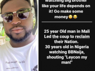 'Y'all lame as hell watching big brother like your life depends on it. Go make some money'' Davido's brother, Adewale knocks #BBNaija viewers