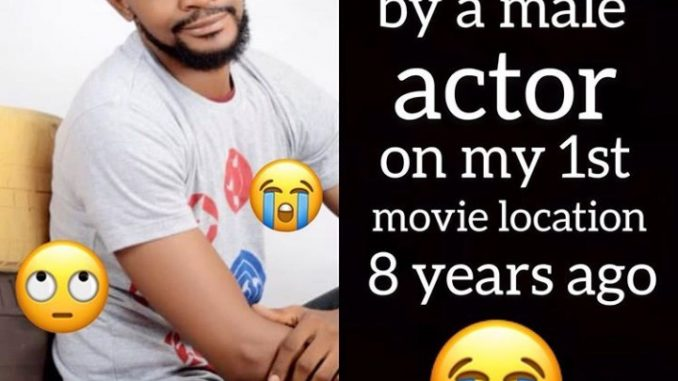 """""""Homosexuality is gradually swallowing Nollywood"""" Uche Maduagwu claims he was raped by a Nollywood actor"""