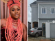 Actress Olayinka Solomon shows off her new home in Lagos (photos)