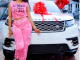 Mercy Eke buys herself a Range Rover Velar as birthday gift as she turns 27 (photos)