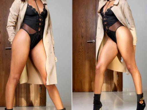 BBNaija's Jackye Madu flaunts her long legs in new sexy photos
