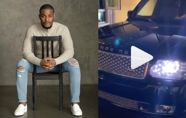 Actor Alex Ekubo gets a Range Rover SUV gift from a friend