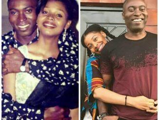 Yibo koko and wife Yellow sisi celebrate 21 years wedding anniversary