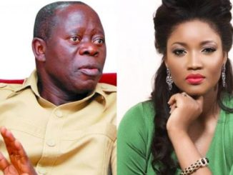 Omotola Accused Of Having Affair With Oshiomhole