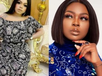 """Madam, just come out and say you are broke""- Bobrisky says after Ka3na condemned celebrities who gift money to fans for tattooing their photos on their body"