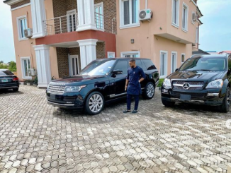 Actor Williams Uchemba narrates how God blessed him with two SUVs after donating money for a church project