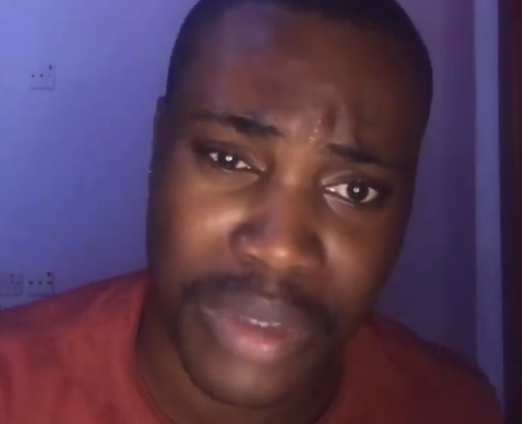 I feel like I am going to commit suicide - Nollywood actor, Godwin Maduagu whose alleged gay sex tape leaked online cries out