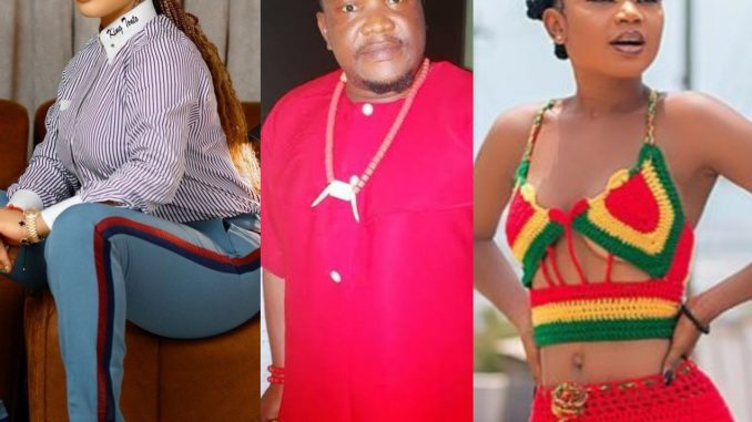 Actor Ugezu J Ugezu disagrees with Tonto Dikeh after the actress joined those campaigning for Akuapem Poloo to be freed
