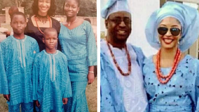 """Those who shame single mothers can shut up because they are not God - Nigerian woman who remarried after surviving """"domestic violence"""" shares her story"""