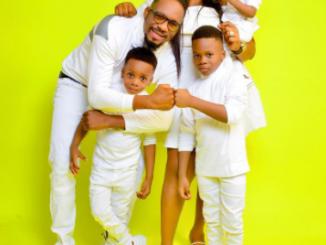 Actor, Junior Pope Odunwodo and wife celebrate seventh wedding anniversary