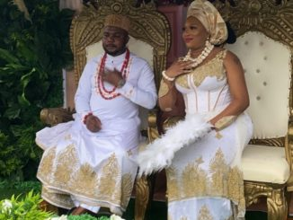 First photos from businesswoman, Sandra Iheuwa and her man, Steve Thompson's traditional wedding
