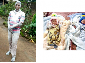Nigerian pastor and his wife welcome twins after 13 years of marriage