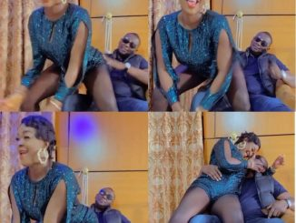 Actress ChaCha Eke-Faani's husband taps her butt as she twerks for him in new video