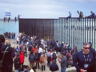 Migrants detained at US-Mexico border exceed 200,000 in one month, its highest level in 21 years