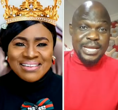 Actor Baba Ijesha hails veteran actress, Mama Rainbow, in New video