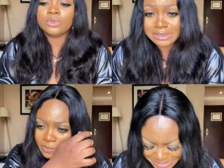 BBNaija's Tega breaks down in tears as she publicly apologizes to her husband for having an affair with Boma while on the show (video)