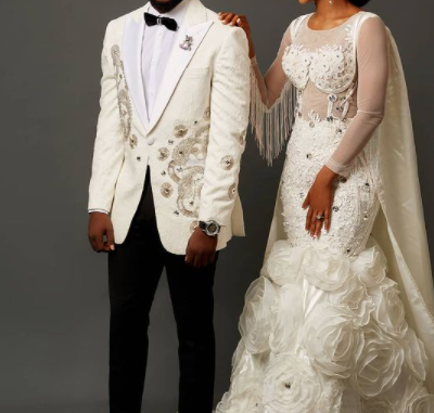 Congratulations pour in for BBNaija's Trikytee as he shows off his woman in new photos